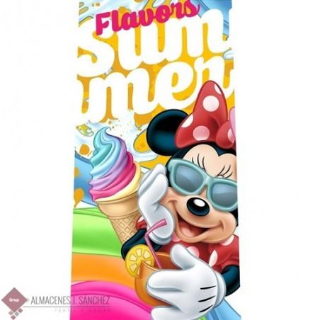 Toalla Playa Disney Minnie Flavors