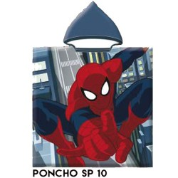 Toalla poncho Capucha Marvel Spiderman Sp10