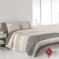 Bouti FunDeco CARTER GRIS REVERSIBLE