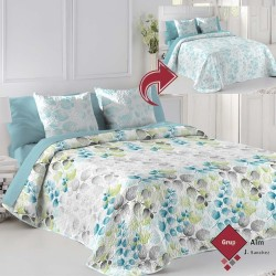 Bouti FunDeco ANANIS AZUL REVERSIBLE