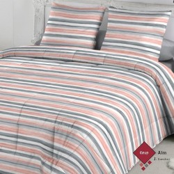 Edredón Comforter FunDeco KORA NUDE REVERSIBLE